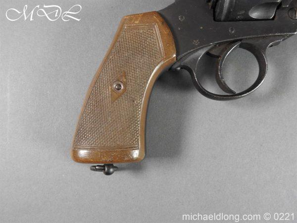 michaeldlong.com 15703 600x450 Webley MK 6 Military Revolver Deactivated