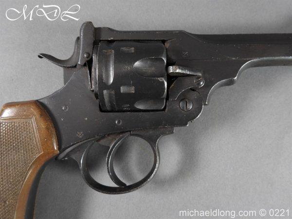 michaeldlong.com 15704 600x450 Webley MK 6 Military Revolver Deactivated
