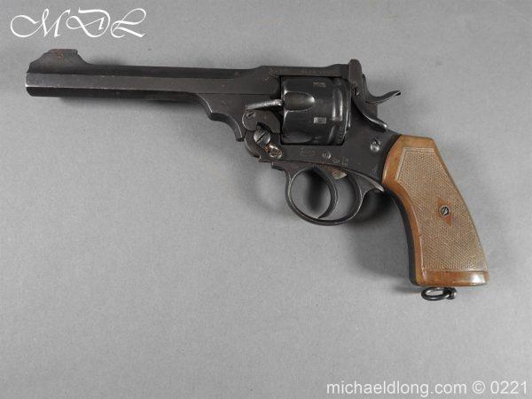 michaeldlong.com 15706 600x450 Webley MK 6 Military Revolver Deactivated