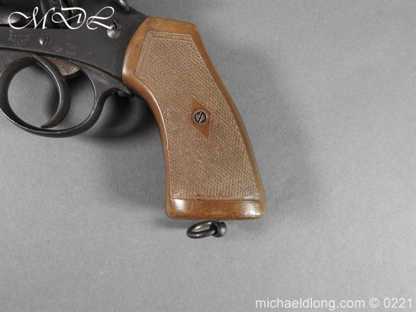 michaeldlong.com 15707 600x450 Webley MK 6 Military Revolver Deactivated