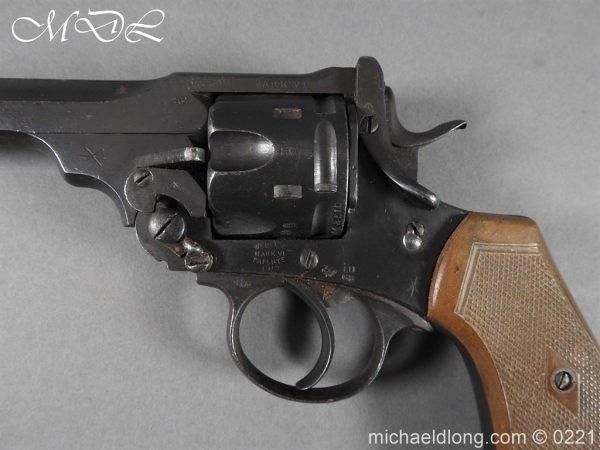 michaeldlong.com 15708 600x450 Webley MK 6 Military Revolver Deactivated