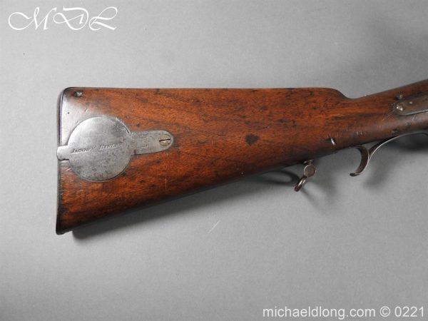 michaeldlong.com 15809 600x450 British 1860 Jacobs Rifle by Swinburn & Son