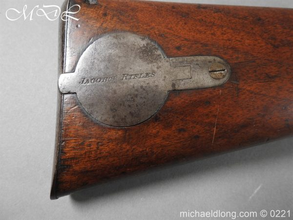 michaeldlong.com 15810 600x450 British 1860 Jacobs Rifle by Swinburn & Son