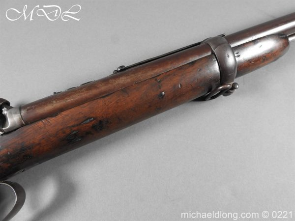 michaeldlong.com 15813 600x450 British 1860 Jacobs Rifle by Swinburn & Son