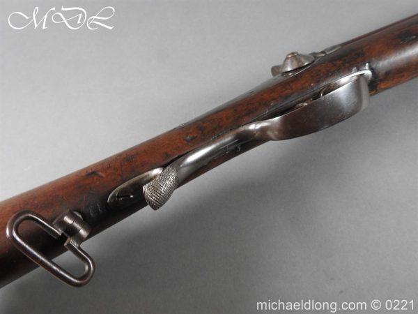 michaeldlong.com 15816 600x450 British 1860 Jacobs Rifle by Swinburn & Son