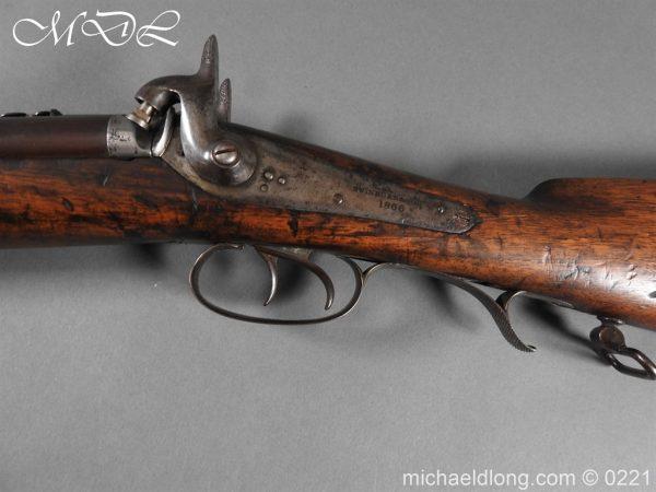 michaeldlong.com 15821 600x450 British 1860 Jacobs Rifle by Swinburn & Son