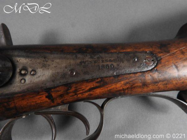 michaeldlong.com 15822 600x450 British 1860 Jacobs Rifle by Swinburn & Son