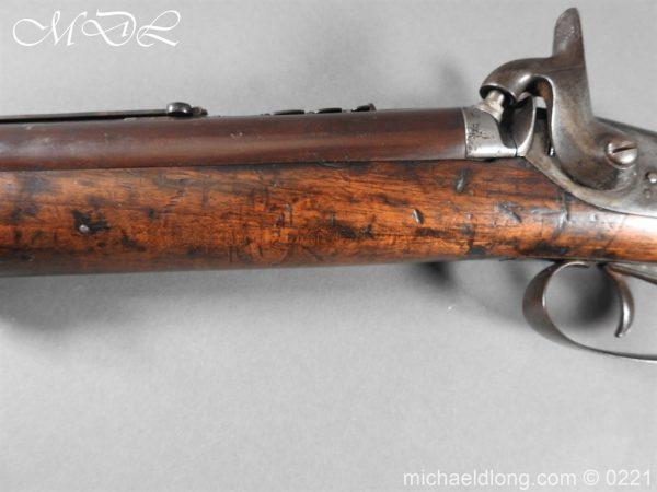 michaeldlong.com 15823 600x450 British 1860 Jacobs Rifle by Swinburn & Son