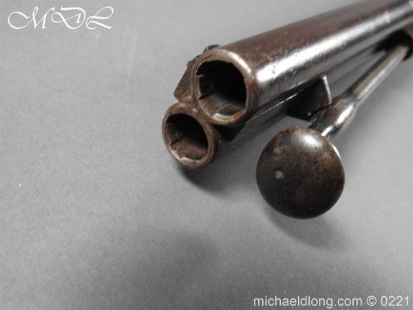 michaeldlong.com 15826 600x450 British 1860 Jacobs Rifle by Swinburn & Son