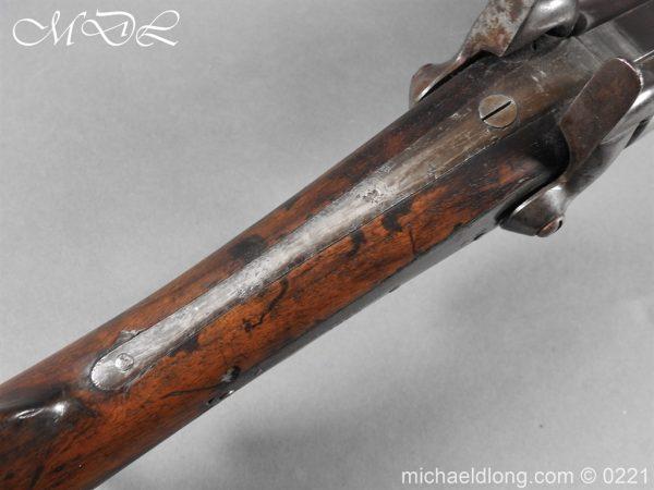 michaeldlong.com 15828 600x450 British 1860 Jacobs Rifle by Swinburn & Son