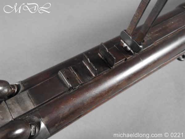 michaeldlong.com 15830 600x450 British 1860 Jacobs Rifle by Swinburn & Son