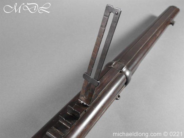 michaeldlong.com 15831 600x450 British 1860 Jacobs Rifle by Swinburn & Son