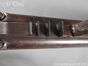 michaeldlong.com 15833 300x225 British 1860 Jacobs Rifle by Swinburn & Son