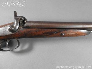 michaeldlong.com 15844 300x225 British Swinburn Double Barralled Smoothbore Carbine