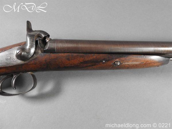 michaeldlong.com 15844 600x450 British Swinburn Double Barralled Smoothbore Carbine