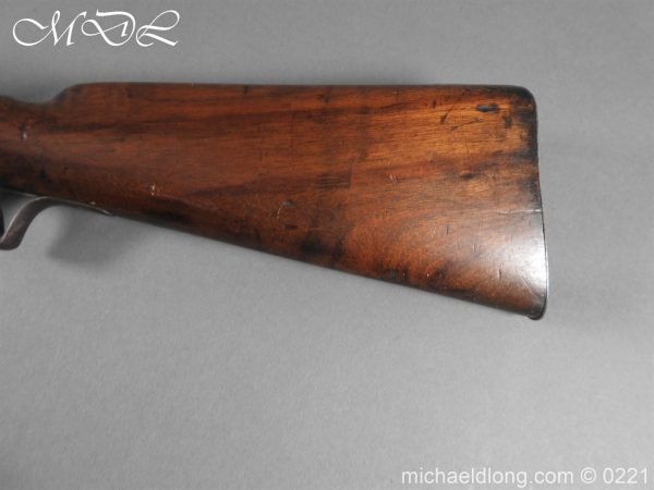 michaeldlong.com 15851 600x450 British Swinburn Double Barralled Smoothbore Carbine