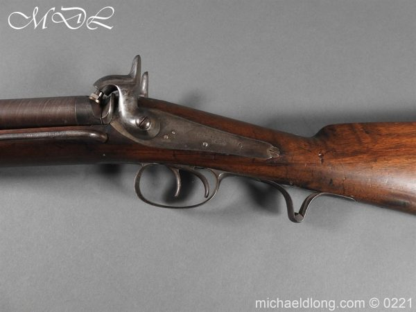 michaeldlong.com 15852 600x450 British Swinburn Double Barralled Smoothbore Carbine