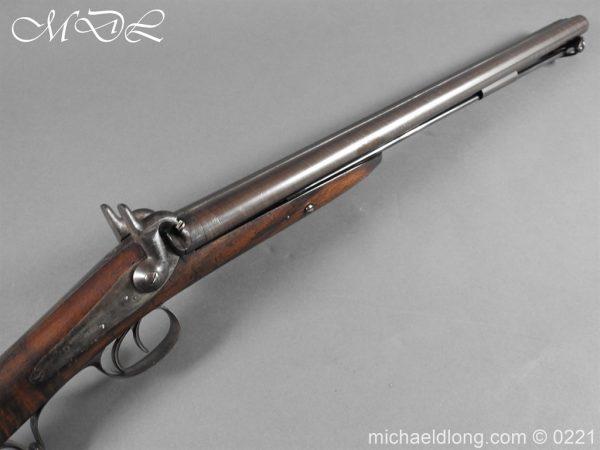 michaeldlong.com 15859 600x450 British Swinburn Double Barralled Smoothbore Carbine
