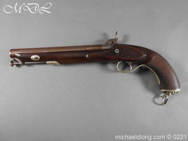 michaeldlong.com 15892 600x450 British Percussion Pistol c 1864 by R Garden Scinde Horse