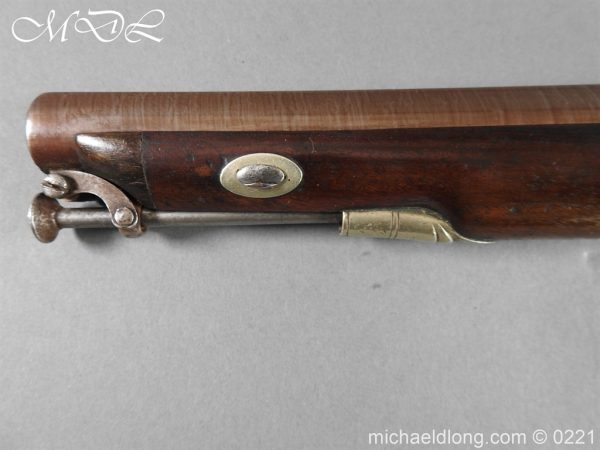 michaeldlong.com 15896 600x450 British Percussion Pistol c 1864 by R Garden Scinde Horse