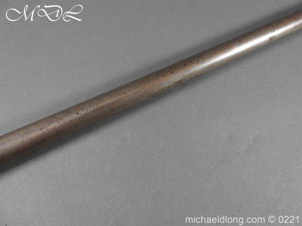 michaeldlong.com 15903 600x450 Day's Patent Breech Loading Percussion Walking Stick Gun
