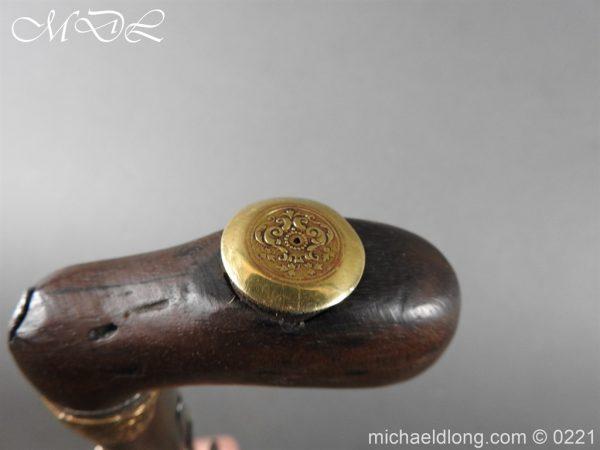 michaeldlong.com 15918 600x450 Day's Patent Breech Loading Percussion Walking Stick Gun