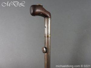 michaeldlong.com 15920 300x225 Day's Patent Breech Loading Percussion Walking Stick Gun