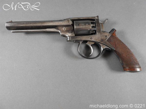 michaeldlong.com 15925 600x450 Deane Harding 54 bore Second Model Revolver