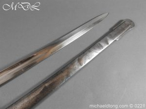 michaeldlong.com 15971 300x225 British Victorian Officer's 1821 Sword by Harman & Co Calcutta