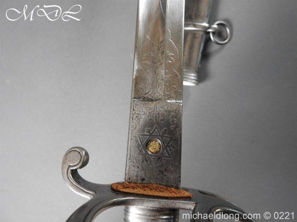 michaeldlong.com 15980 600x450 British Victorian Officer's 1821 Sword by Harman & Co Calcutta