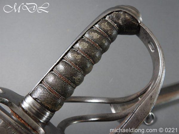michaeldlong.com 15990 600x450 British Victorian Officer's 1821 Sword by Harman & Co Calcutta