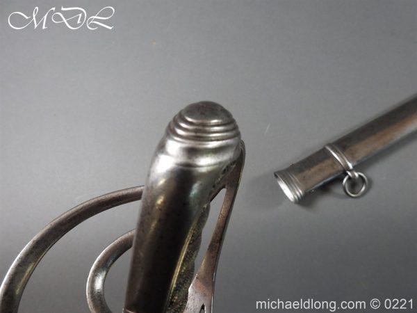 michaeldlong.com 15992 600x450 British Victorian Officer's 1821 Sword by Harman & Co Calcutta
