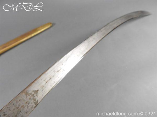 michaeldlong.com 16106 600x450 Georgian 5th Dragoon Guards Officer's Mameluke