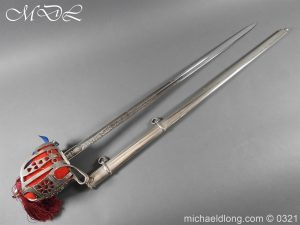 Royal Scots ER 2 Basket Hilt Sword by Wilkinson