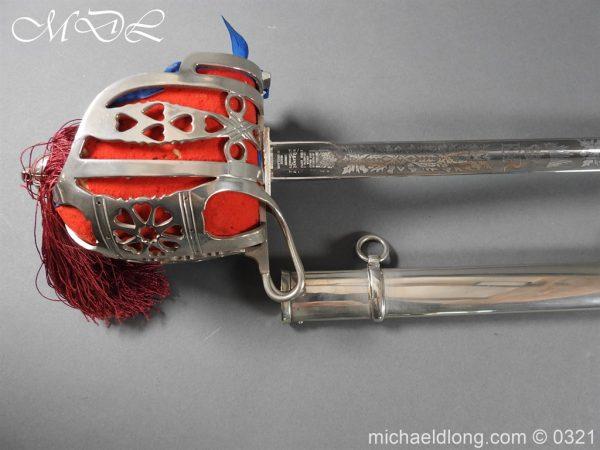 michaeldlong.com 16124 600x450 Royal Scots ER 2 Basket Hilt Sword by Wilkinson