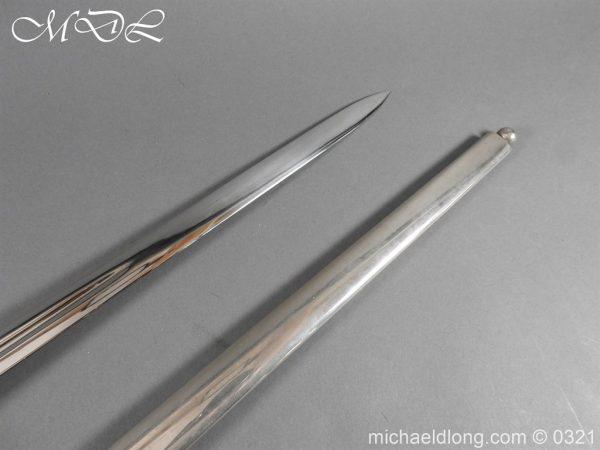 michaeldlong.com 16126 600x450 Royal Scots ER 2 Basket Hilt Sword by Wilkinson