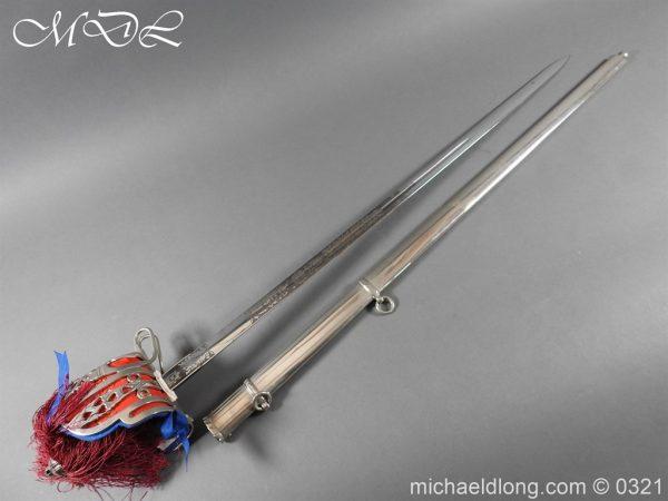 michaeldlong.com 16127 600x450 Royal Scots ER 2 Basket Hilt Sword by Wilkinson