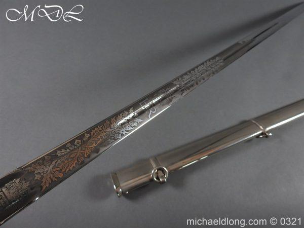 michaeldlong.com 16131 600x450 Royal Scots ER 2 Basket Hilt Sword by Wilkinson
