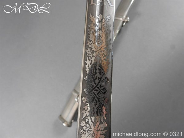 michaeldlong.com 16133 600x450 Royal Scots ER 2 Basket Hilt Sword by Wilkinson
