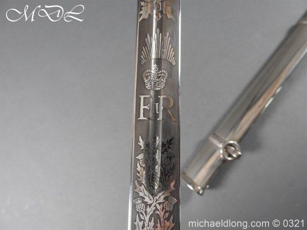 michaeldlong.com 16134 600x450 Royal Scots ER 2 Basket Hilt Sword by Wilkinson