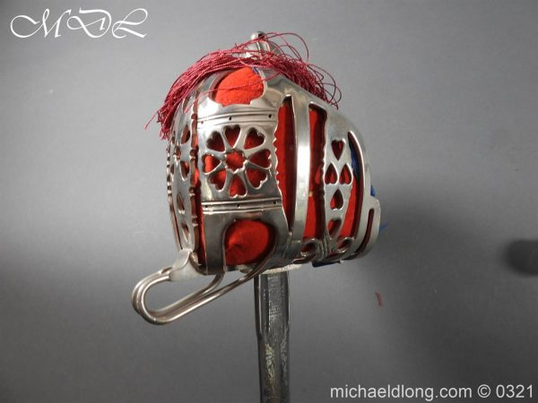 michaeldlong.com 16146 600x450 Royal Scots ER 2 Basket Hilt Sword by Wilkinson