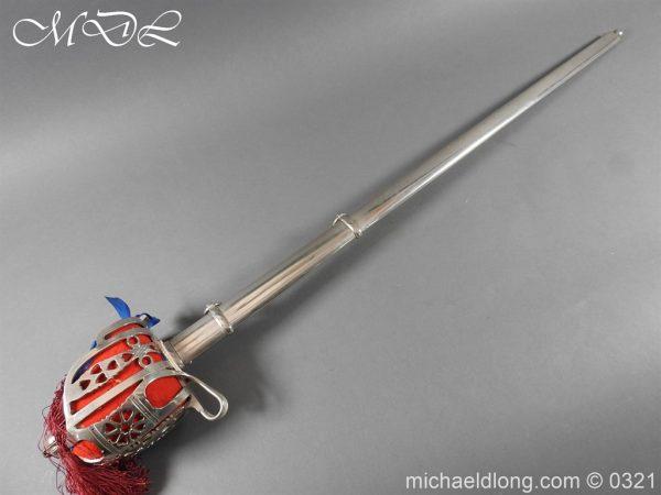 michaeldlong.com 16147 600x450 Royal Scots ER 2 Basket Hilt Sword by Wilkinson