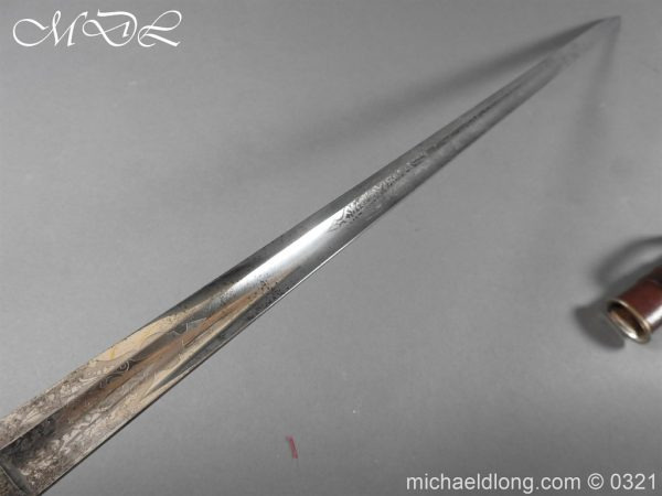 michaeldlong.com 16161 600x450 Victorian Middlesex 5th Rifle Voluneer's Officer's Sword