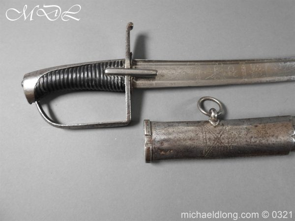 michaeldlong.com 16275 600x450 1788 British Officer's Cavalry Sword by EGG