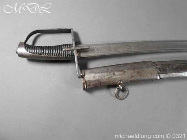 michaeldlong.com 16279 600x450 1788 British Officer's Cavalry Sword by EGG