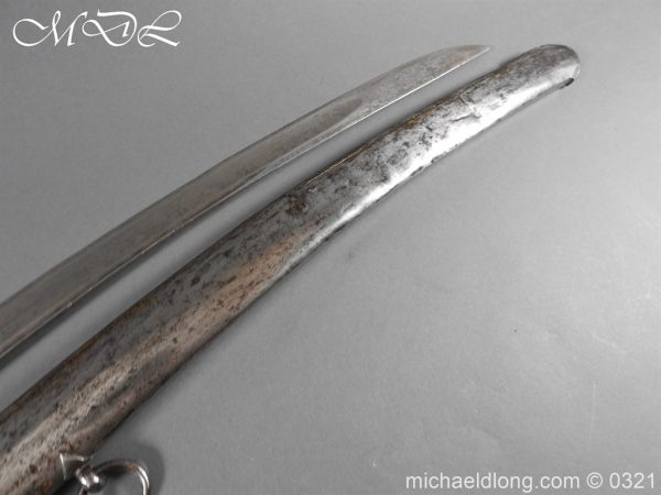 michaeldlong.com 16281 600x450 1788 British Officer's Cavalry Sword by EGG