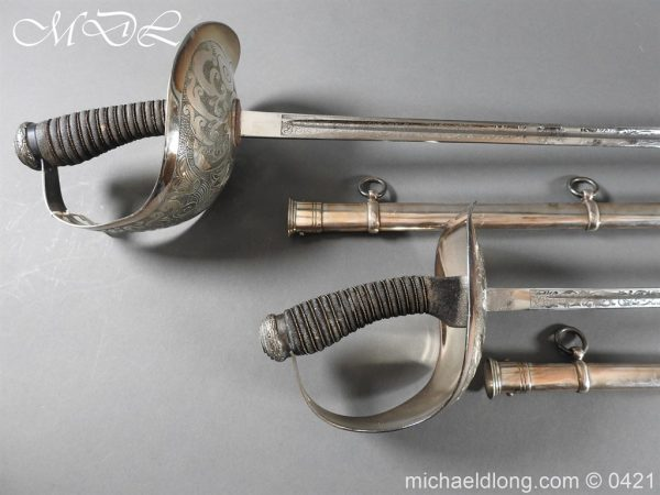 michaeldlong.com 16845 600x450 1912 Pattern Cavalry Officers Swords Made for the Sons of the Maharaja of Gwalior