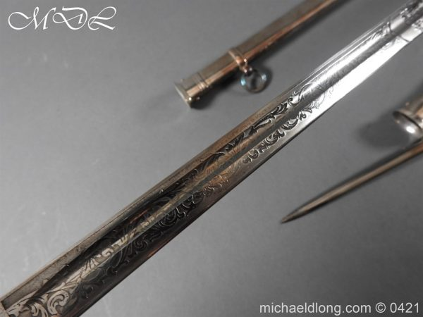 michaeldlong.com 16862 600x450 1912 Pattern Cavalry Officers Swords Made for the Sons of the Maharaja of Gwalior