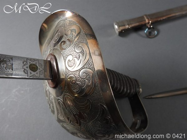 michaeldlong.com 16870 600x450 1912 Pattern Cavalry Officers Swords Made for the Sons of the Maharaja of Gwalior