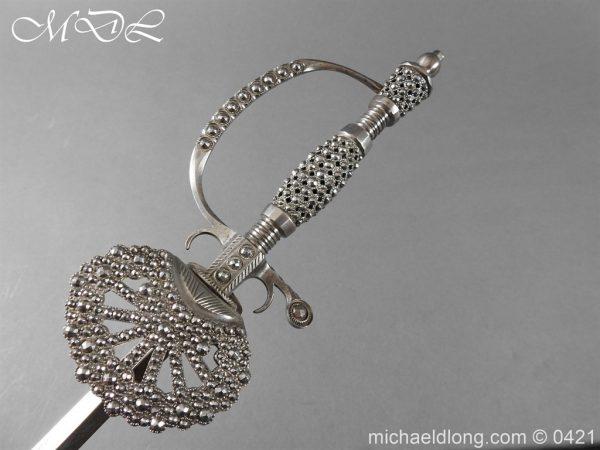 michaeldlong.com 16918 600x450 British Cut Steel Small Sword